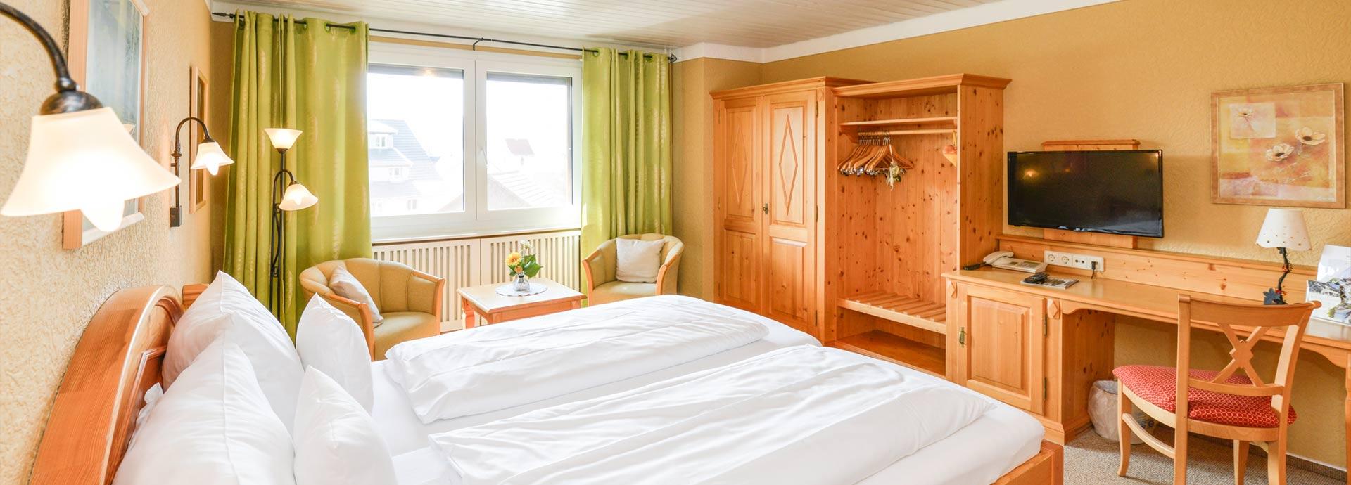 Zimmer im Kellhof Hotel-Garni | Günstige Unterkunft am Bodensee